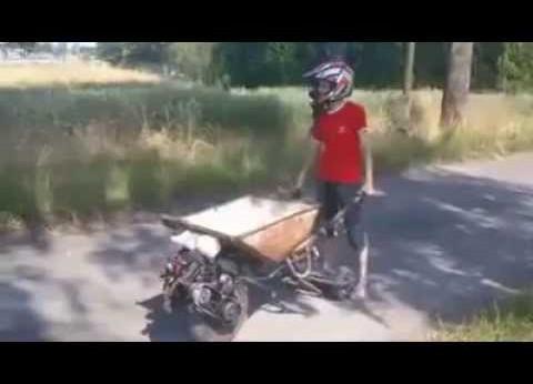 Cum se cară mai repede cu roaba