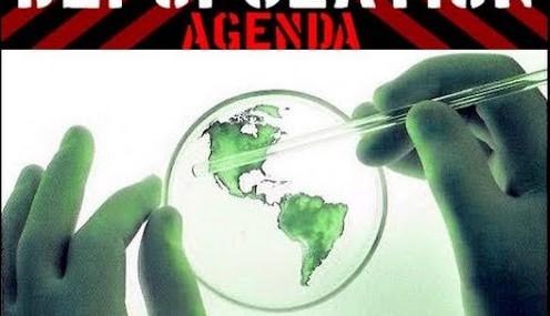 Reducerea populatiei mondiale