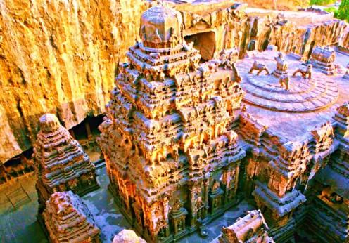 Templul enigmatic de la Kailasa