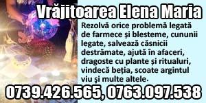 Banner 300x150 Vrajitoarea Elena Maria
