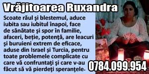 Banner 300x150 Vrajitoarea Ruxandra