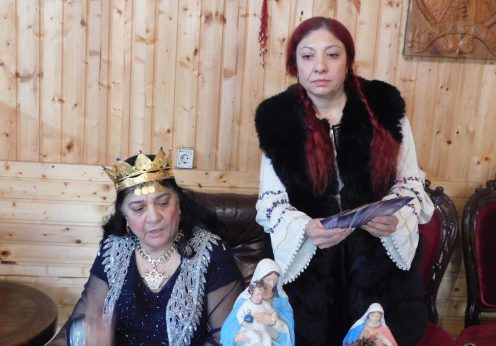 Maria Campina, regina Magiei Albe din Romania si vrajitoarea Ioana Sidonia