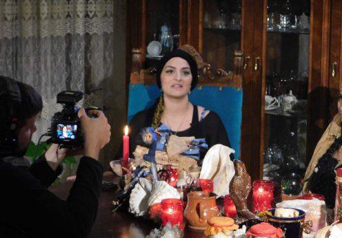 Vrajitoarea Morgana, regina Magiei Negre la interviu cu rusii 4