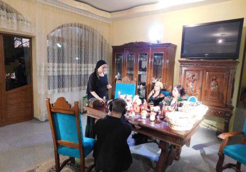 Vrajitoarea Morgana, regina Magiei Negre la interviu cu rusii 2