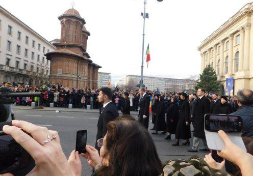 Funeraliile Regelui Mihai27a
