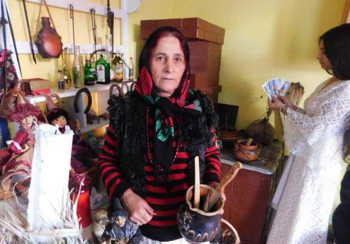 Vrajitoarea Elena Minodora in interviu cu rusii