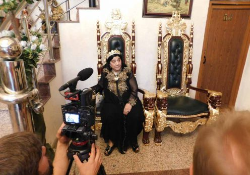 Regina magiei albe Maria Câmpina 77