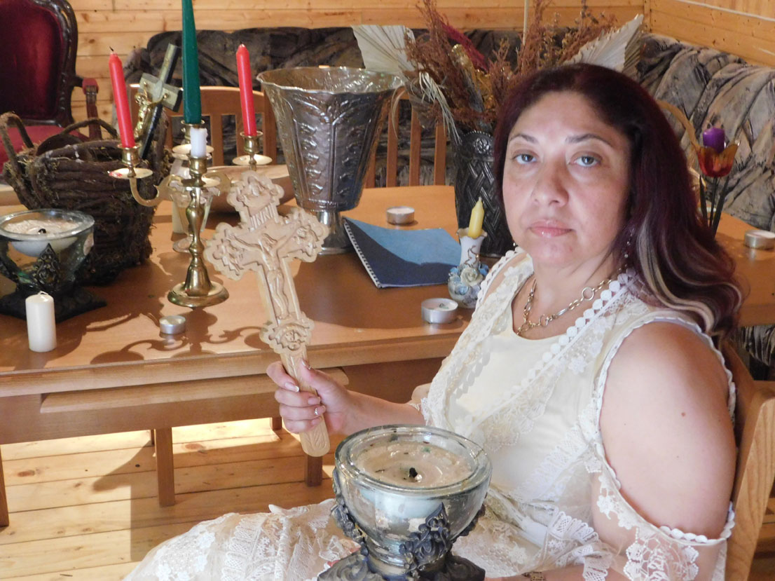 Celebra clarvăzătoare Ioana Sidonia