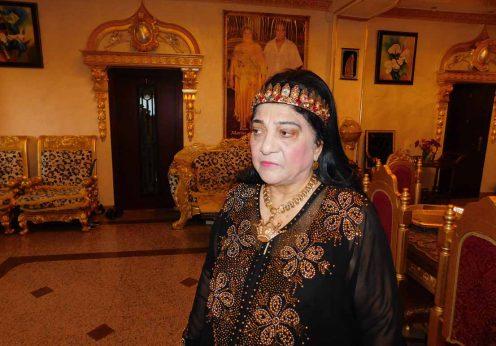 Maria Campina, regina Magiei Albe din Romania da interviu pentru tv Bulgaria