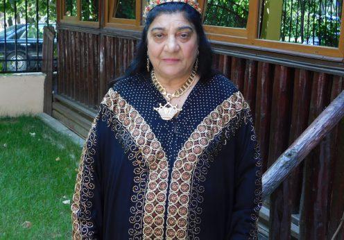 Maria Campina in ritual pentru tv Nova Bulgaria 27