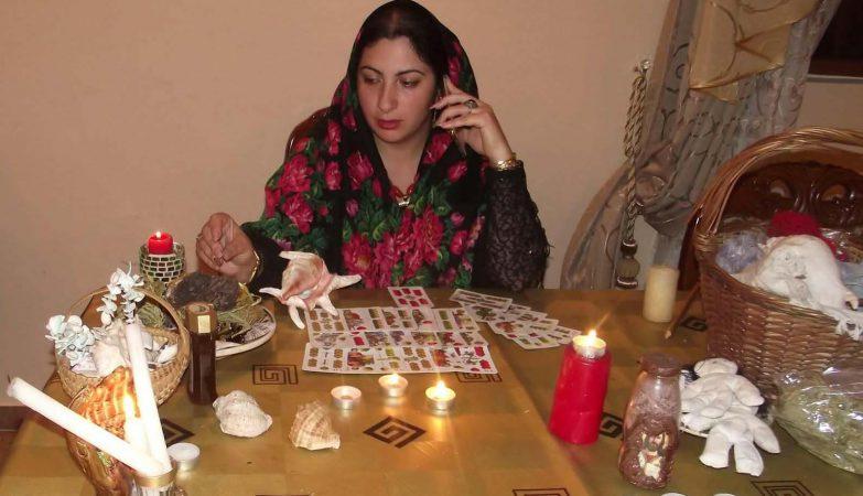 Vrajitoarea Florica in ritual 34