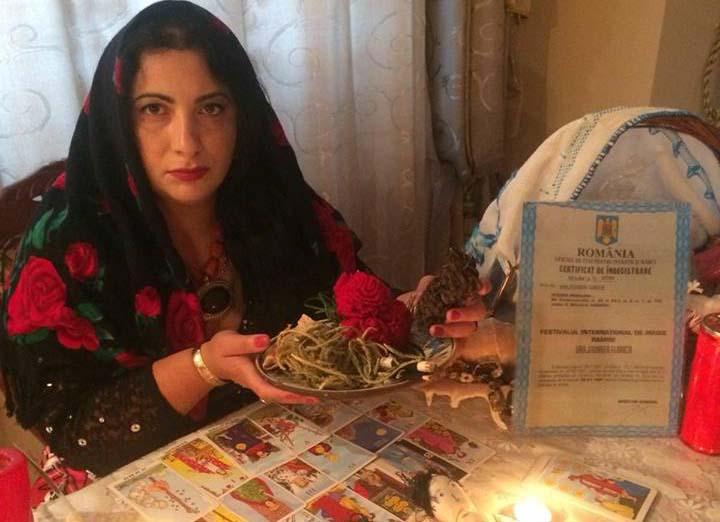 Vrajitoarea Florica in ritual