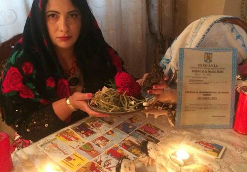 Vrajitoarea Florica in ritual 4