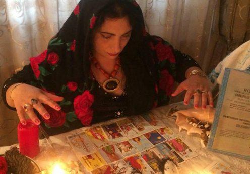 Vrajitoarea Florica in ritual 1