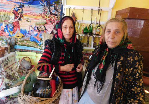 Vrajitoarea Elena Minodora si vrajitoarea Bratara in interviu cu rusii 1