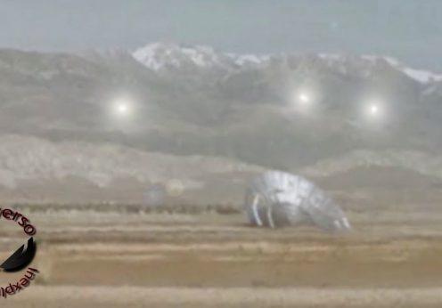 ozn prăbușit în deșertul Colorado