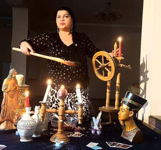 Vrăjitoarea Graţiela Costache cu puteri miraculoase